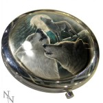 Wolf Song Compact Mirror