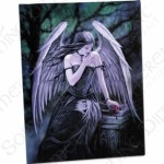 Lost Soul Canvas Wall Plaque