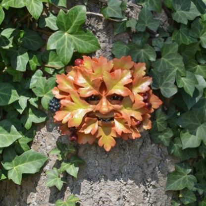 Hawthorn Green Man Plaque