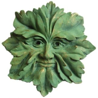 Green Man Star Plaque