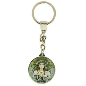 The Grey Lady Keyring