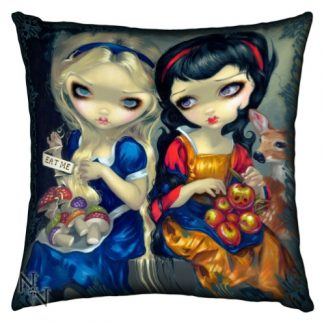 Alice and Snow White Cushion