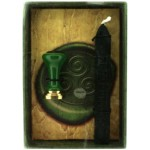 Triskele Celtic Wax Seal includes the seal and green wax