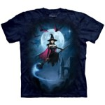 Witch's Flight T Shirt