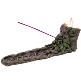 Wildwood Incense and Tealight Holder