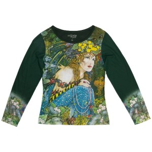 Watching from the Wood Long Sleeved T Shirt