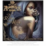 Alchemy Gothic 2016 Calendar The Raven and The Rose