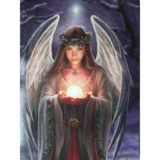 Yule Angel Card