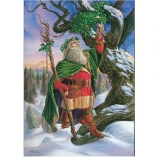 Gathering the Mistletoe Card