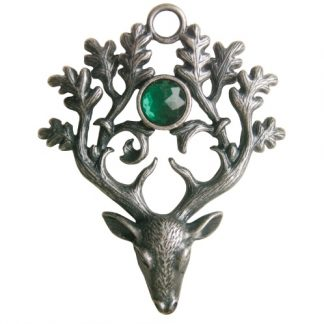 The Stag Lord Pendant