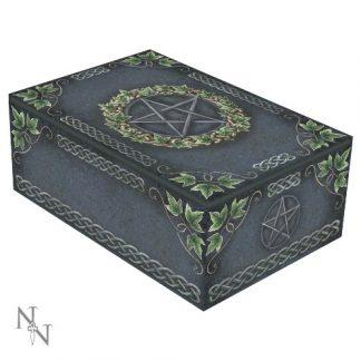 Ivy Pentagram Tarot Box