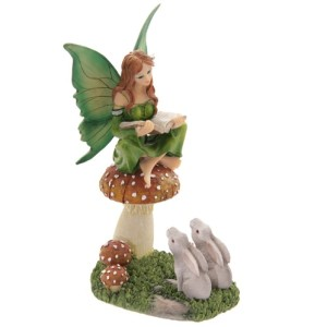 Woodland Storyteller Fairy Figurine