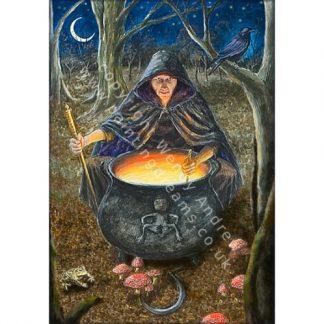 Crone Goddess Card