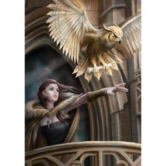 Owl Messenger Card