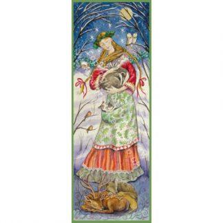 Woodland Guardian Maiden Card