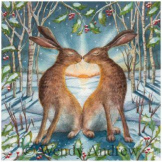 Loving the Yule Dawn Card