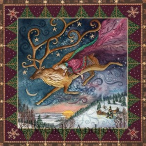 Yule Dawn Dreaming Card