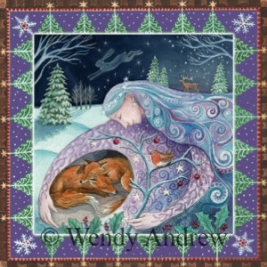 Winter Mother Protection Card