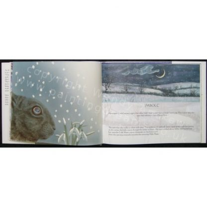 Luna Moon Hare Book - Imbolc chapter