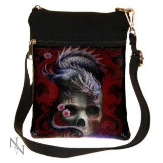 Eastern Dragon Skull Shoulder Bag