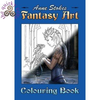 Anne Stokes Fantasy Art Colouring Book