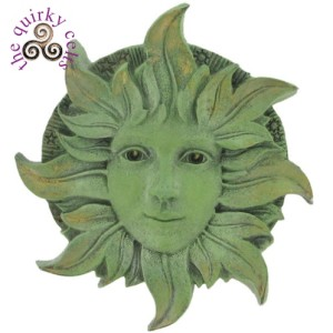 Solstice Green Woman Plaque