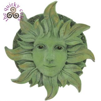 Solstice Green Woman Plaque