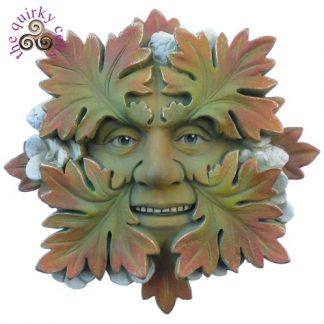 Green Woodland Green Man Plaque