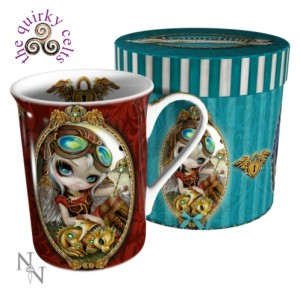 Clockwork Dragonling Mug and Box