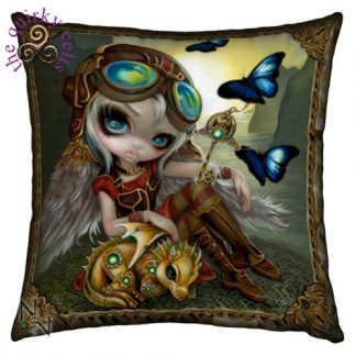Clockwork Dragonling Large Cushion