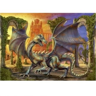 At Dragon Castle Jigsaw Puzzle