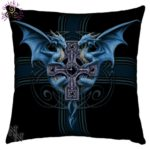 Dragon Duo Large Cushion