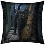 A Brush with Magick Cushion
