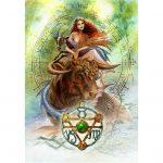 Elemental Earth Talisman Card