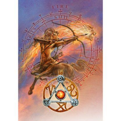 Elemental Fire Talisman Card
