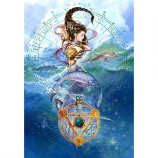 Elemental Water Talisman Card