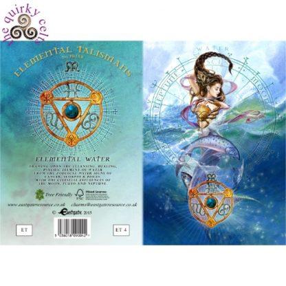 Elemental Water Talisman card cover