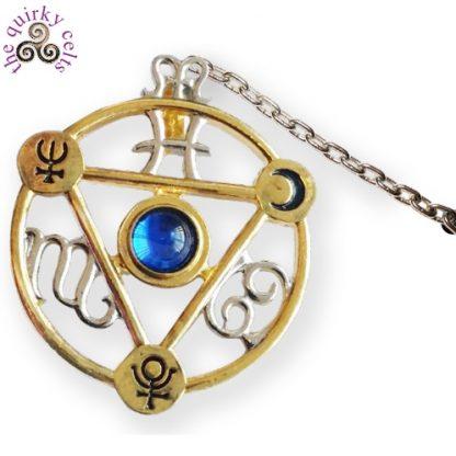 Elemental Water Talisman Pendant