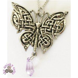 Morrigan's Moon Moth Pendant