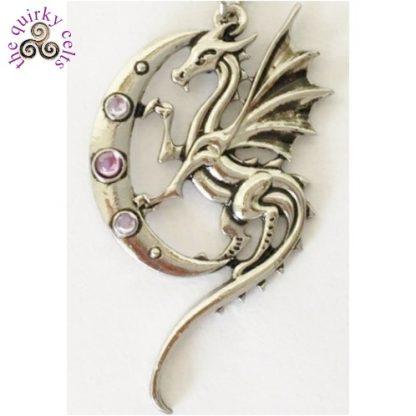 Luna Dragon Pendant