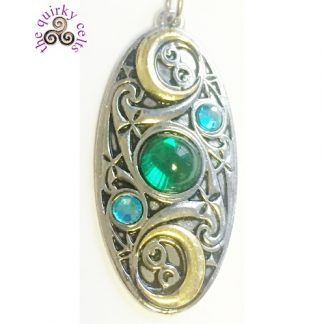 Moon Shield Pendant