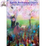 This image shows the front cover of the Earth Pathways Diary 2017