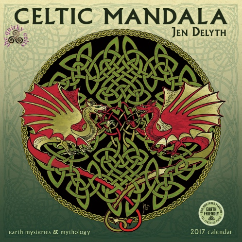 Celtic Mandala 2017 Calendar Celtic Calendar The