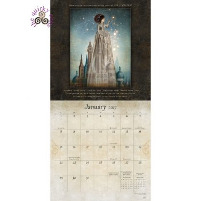 A Knock at the Door 2017 Calendar January