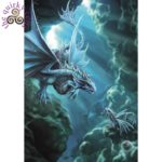 Water Dragon Card shows a water dragon underwater