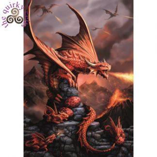 Fire Dragon Card