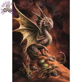 Desert Dragon Card