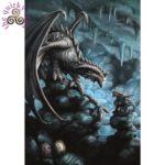 Rock Dragon Card