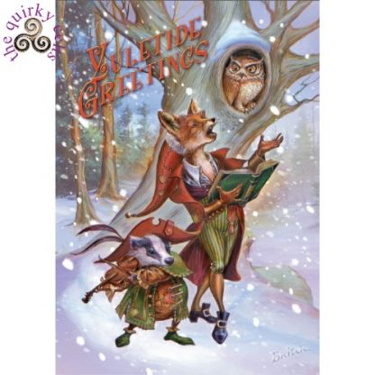 Wildwood Carols Yule Card