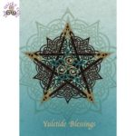 Pentacle Knot Card